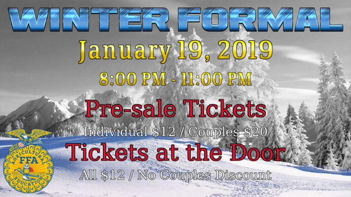 FFA Winter Formal - January 19
