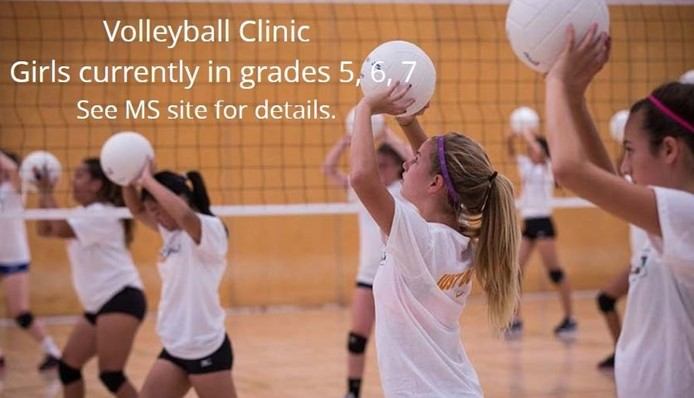 MS Volleyball Clinic