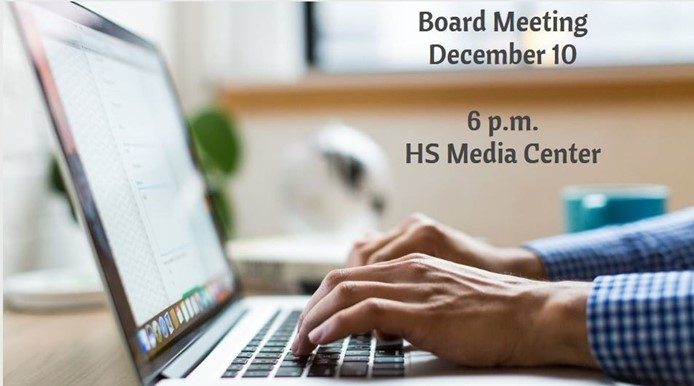 Board Meeting - December 10