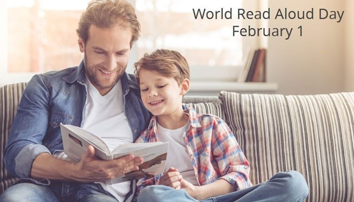 World Read Aloud Day February 1