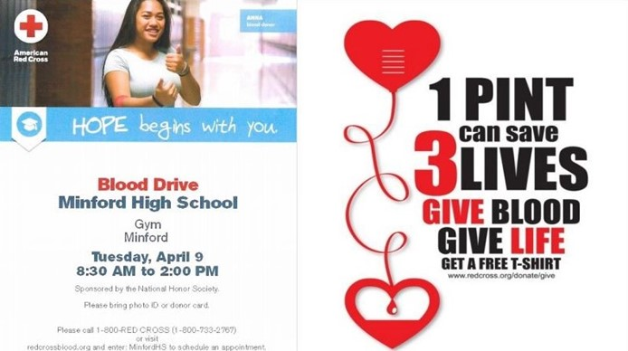 Blood Drive - April 9