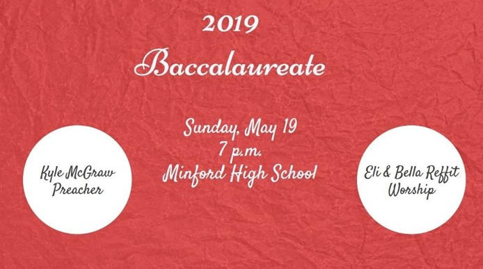 Baccalaureate - May 19